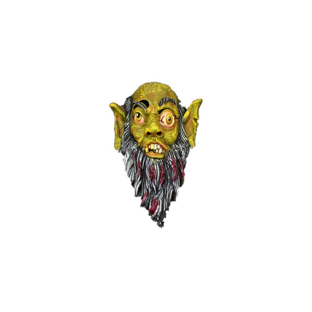 Syrinx High-Quality Halloween Mask Terror Goblin Mask - Full Mask Latex(yellow)