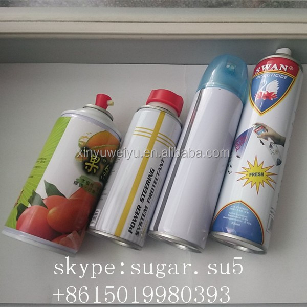 China Manufacturers Empty Aerosol Spray Paint Tin Cans
