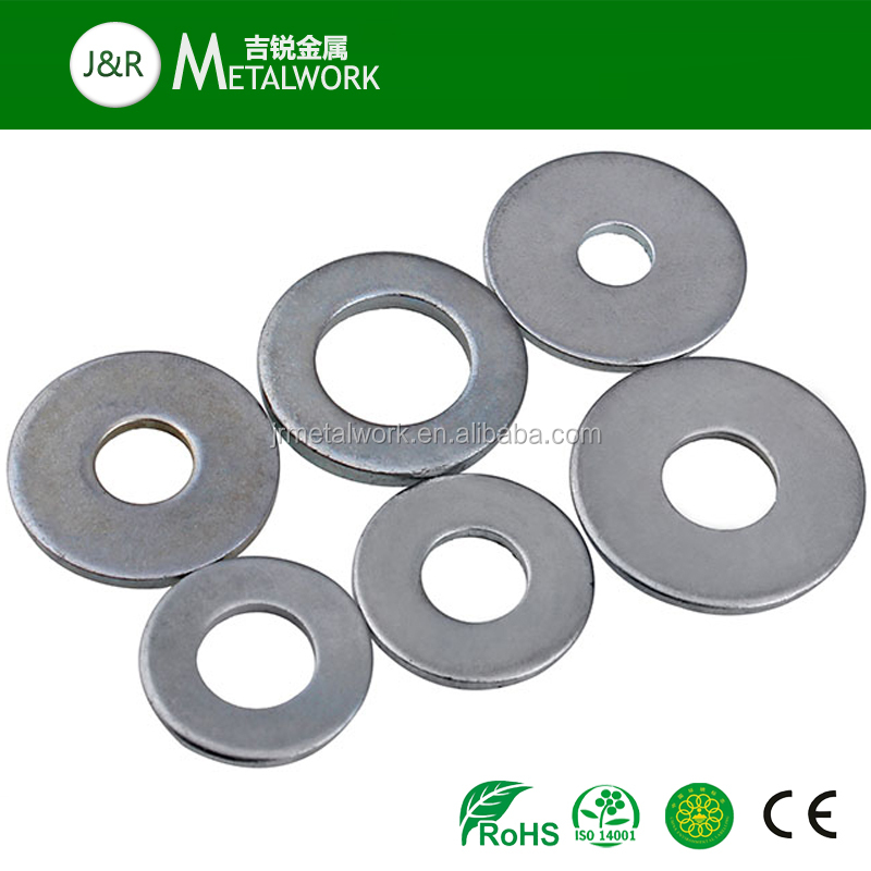 High Strength F436 Steel Plated SAE Hard Flat Structure Washer DIN6916