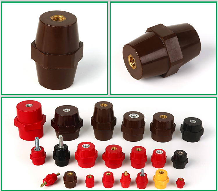 High Intensity Epoxy Resin SEP6541 Hexagonal Type Standoff Insulators