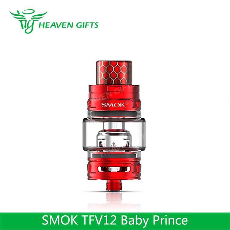 International Edition Smoktech TFV12 Baby Prince Tank 4.5ml/ 2ml E cigarette New Vaporizer