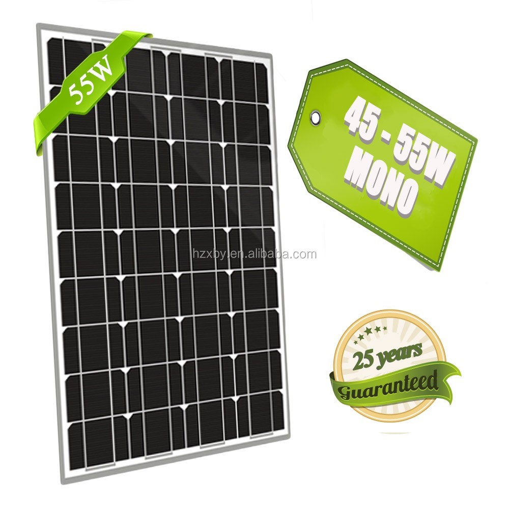 55w thin film solar panel hanergy of grid solar system witth complete kit solar energy