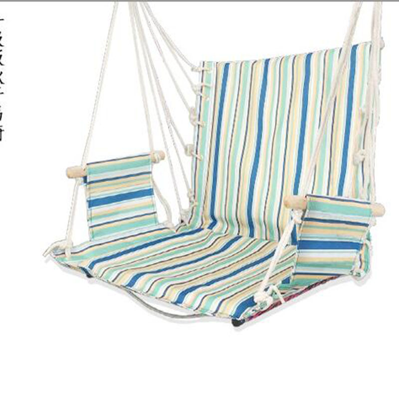 Blue Hammock With Folding Steel Stand Max Capacity 180kg High