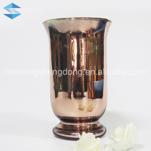 Copper Color Glass Vase Wholesale Vase Suppliers Alibaba