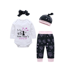 2019 New Year Spring Trendy Baby Clothes For 0-3 Months