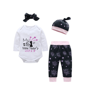 e4a66ebd88be 2019 New Year Spring Trendy Baby Clothes For 0-3 Months