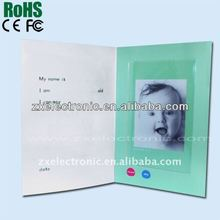 voice recorder gift cards for birthday ,wedding invitation