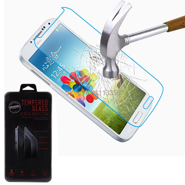 9H Explosion Proof Real Premium Real Tempered Glass Film Screen Protector For Samsung Galaxy S4 i9500 Retail Package 100pcs/lot