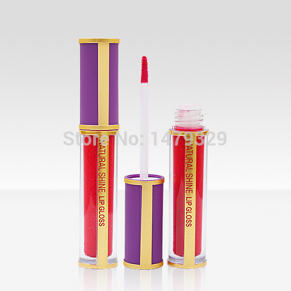 free dhl shipping 48PCS / LOT Hot selling Menow Acme shiny, latest lip gloss waterproof make up lip gloss in single packing