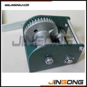 Small Manual Hand Winch with Wire Rope