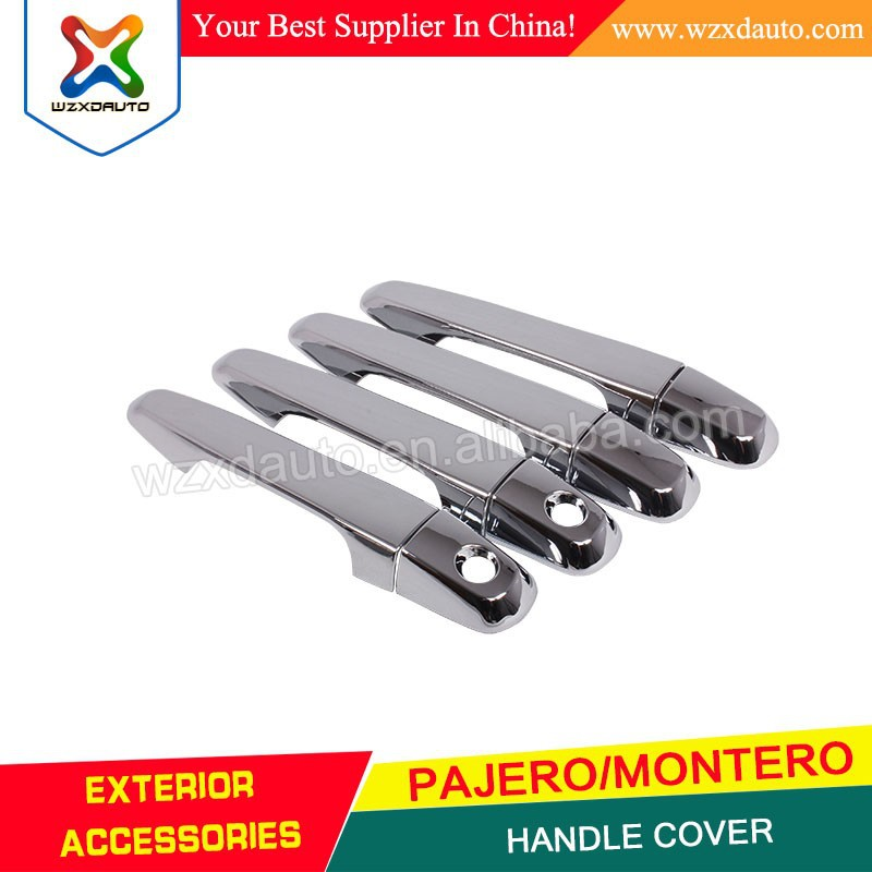 2008 MITSUBISHI PAJERO/MONTERO CHROME HANDLE COVER AUTO AFTERMARKET PARTS CAR ACCESSORIES