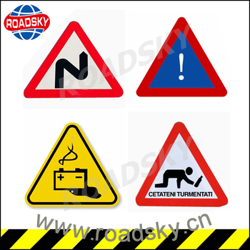 Warning Mark Reflective Aluminum Road Signs And Symbols For Sale ...