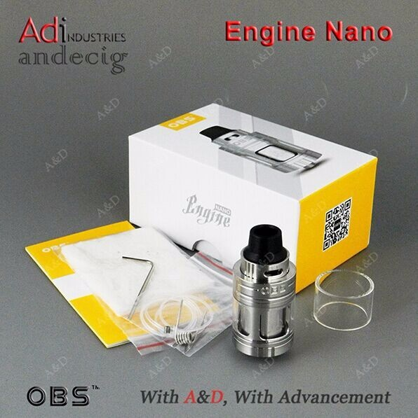 A&d Industries Wholesale Original Obs Engine Nano 5.3ml Rta Vs Obs ...