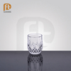 Clear cut soda-lime glass tumbler crystal whiskey glass cup