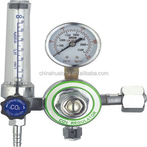 co2 argon regulator/industrial co2 regulator price