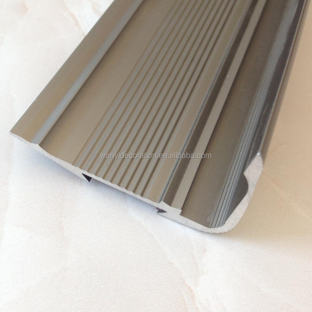 Aluminum And Rubber Floor Trim Stair Tread Buy Stair Tread
