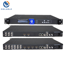 Hot Sale Machine Support Biss descrambling,DiSEqC function dvb encoder decoder