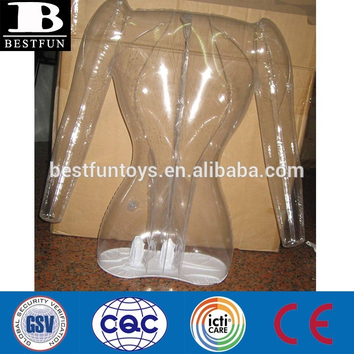 custom cheap inflatable transparent mannequin leg mannequins torso half body female male mannequins for sale