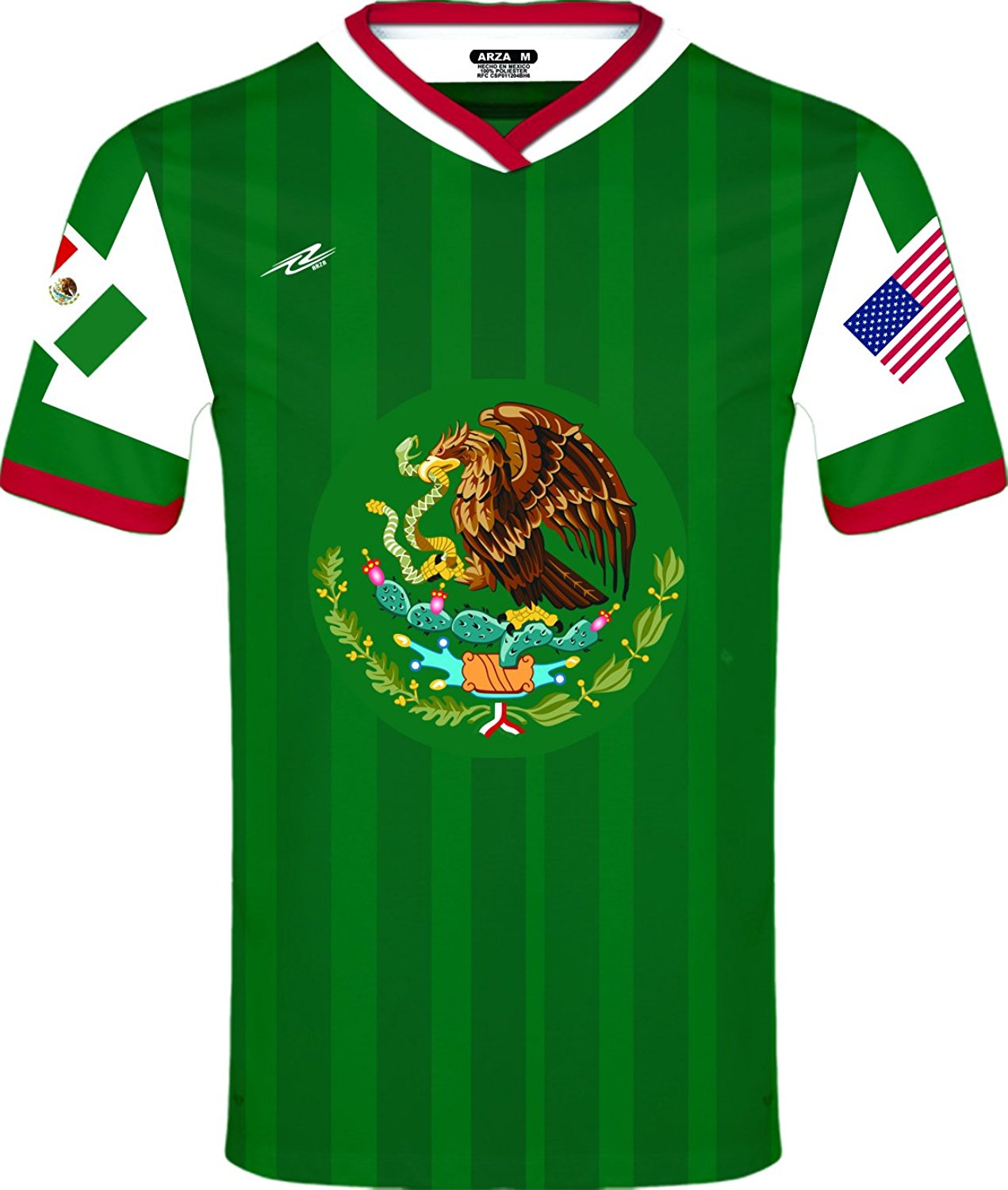 33beba08d Get Quotations · Arza Sports Men s Mexico and USA Jersey
