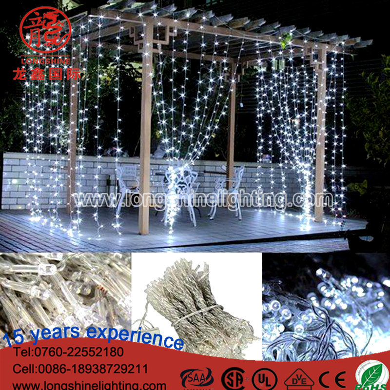 led waterfall curtain light led waterfall curtain light suppliers and manufacturers at alibabacom - Waterfall Christmas Lights
