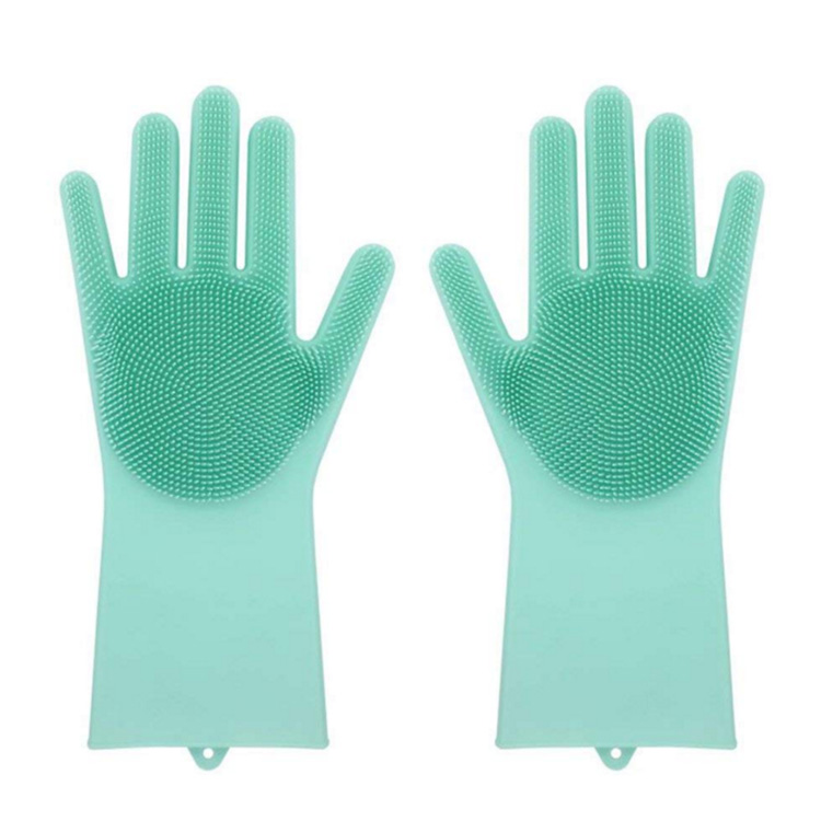 FDA Approved Silicone Dishwashing Glove Magic Silicone Dish washing Gloves