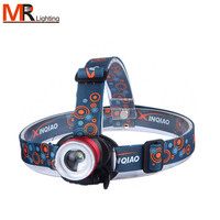 High quality 3W LED head lamp, LED headlamp, head flashlight with charge