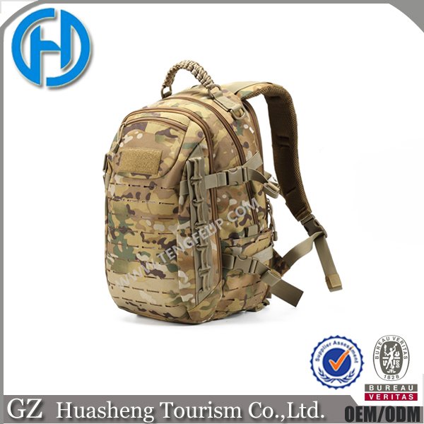 2017 customized 600D oxford polyester military Rucksack molle laptop pack