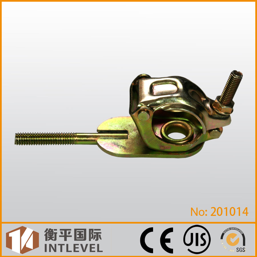 Stainless Steel Carbon Steel Galvanized Single coupler/Scaffold Fitting with Feather Style Bolt