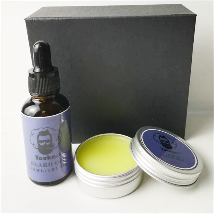 Private Label men's beard oil kit hot sale beard oil