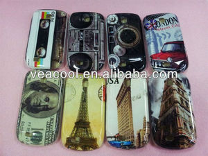 New Plastic Hard Back Phone Case Cover Skin for Samsung Galaxy Mini S5570