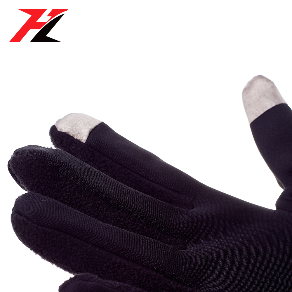 Mens women custom warm running screen touch gloves for smartphone cycling riding gloves