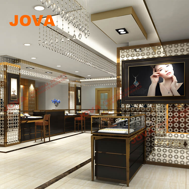 High-end Interior Design Of Jewellery Shop In India Jewelry Display Booths  - Buy Jewelry Display Booths,Jewelry Display Showcase,Jewellery Showroom