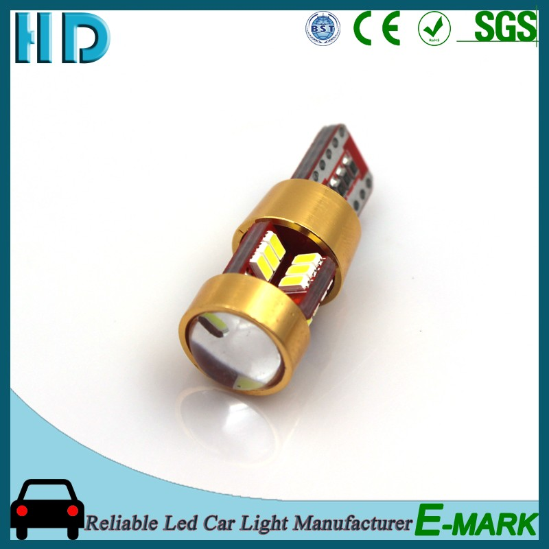 2016 top selling for 36smd 5050 t10 car led panel light bulb highpower for USA market