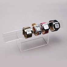 Clear 아크릴 Bangle Watch 관 Bangle 서 아크릴 Watch Stands Display 랙