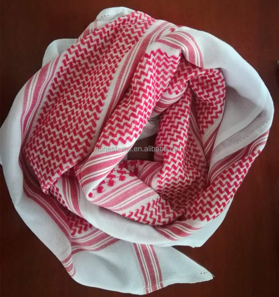 complete in specifications yashmagh arab headdress scarf red for sale