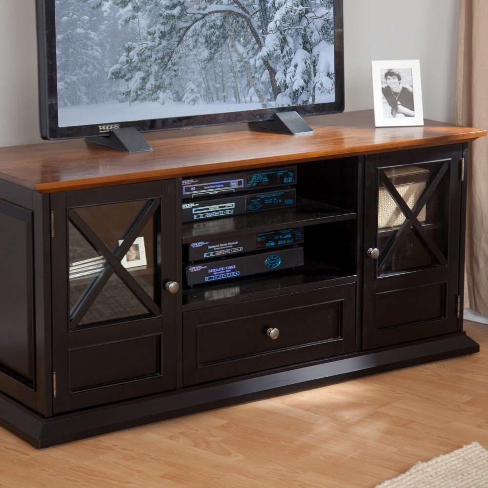 Get Quotations · Entertainment TV Cabinet With DVD Storage And Holds A 60 Inch  TV