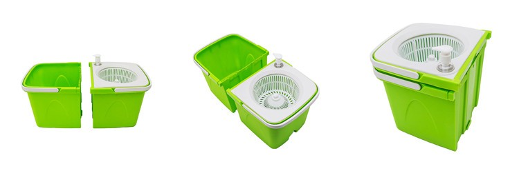 Cleaning Products for The Home Rotating Mop Wringer Bucket