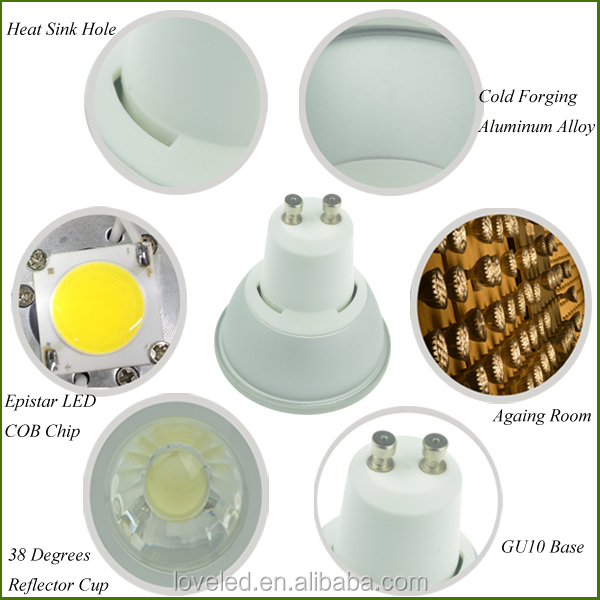 70w Halogen Replacement 2700k Gu10 Led Downlight Bulb 220v Led Cob ...