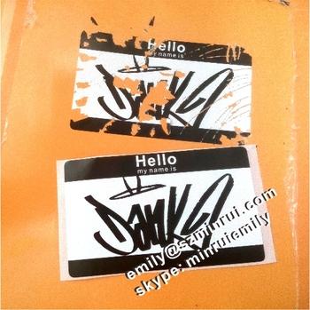 Custom Xcm Eggshell Blank StickersBreakable Graffiti Name - Graffiti custom vinyl stickers