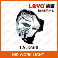 Hot sale 7 inch HID off road lights, HID conversion auto light , HID maintenance light