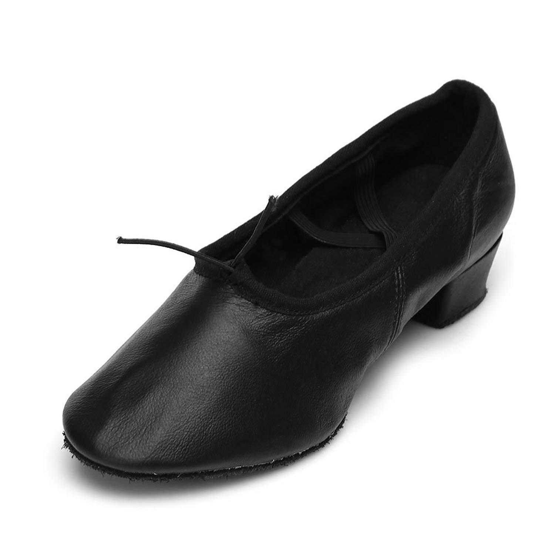 a90a43e3b Get Quotations · HIPPOSEUS Girls/Women's Latin Dance Shoes Ballroom Dancing  Shoes,Soft Bottom Teachers Dance Shoes
