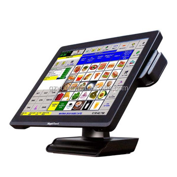Pos Systems 2 Lan Touch Screen Computer Pos Terminal Payment For Restaurant Retails Factory Buy Touch Screen 15 Restaurant Touch Screen Computer