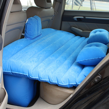 Adult Full Sized Sleeping Inflatable Pvc Travel Bed Camping Suv Back