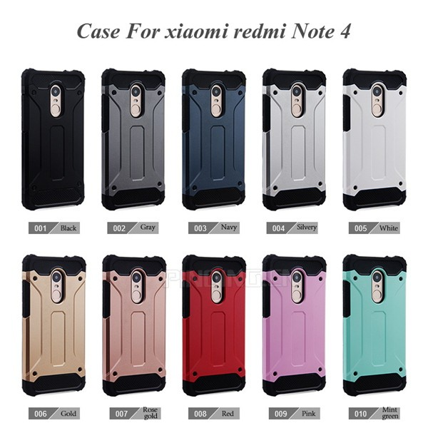 best website 9fb8f e65e3 Dual Layer Impact Armor Case For Xiaomi Redmi Note 4 Back Cover,For Xiaomi  Redmi Note4 Case - Buy For Xiaomi Redmi Note 4 Back Cover,Impact Armor Case  ...