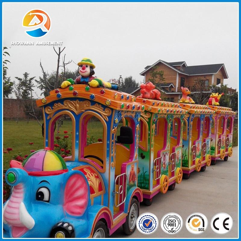 [showann]new Backyard Amusement Rides Diesel Train
