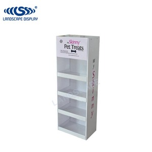 Customized carton floor standing craft show display stands/corrugated paper kid toys display rack for store