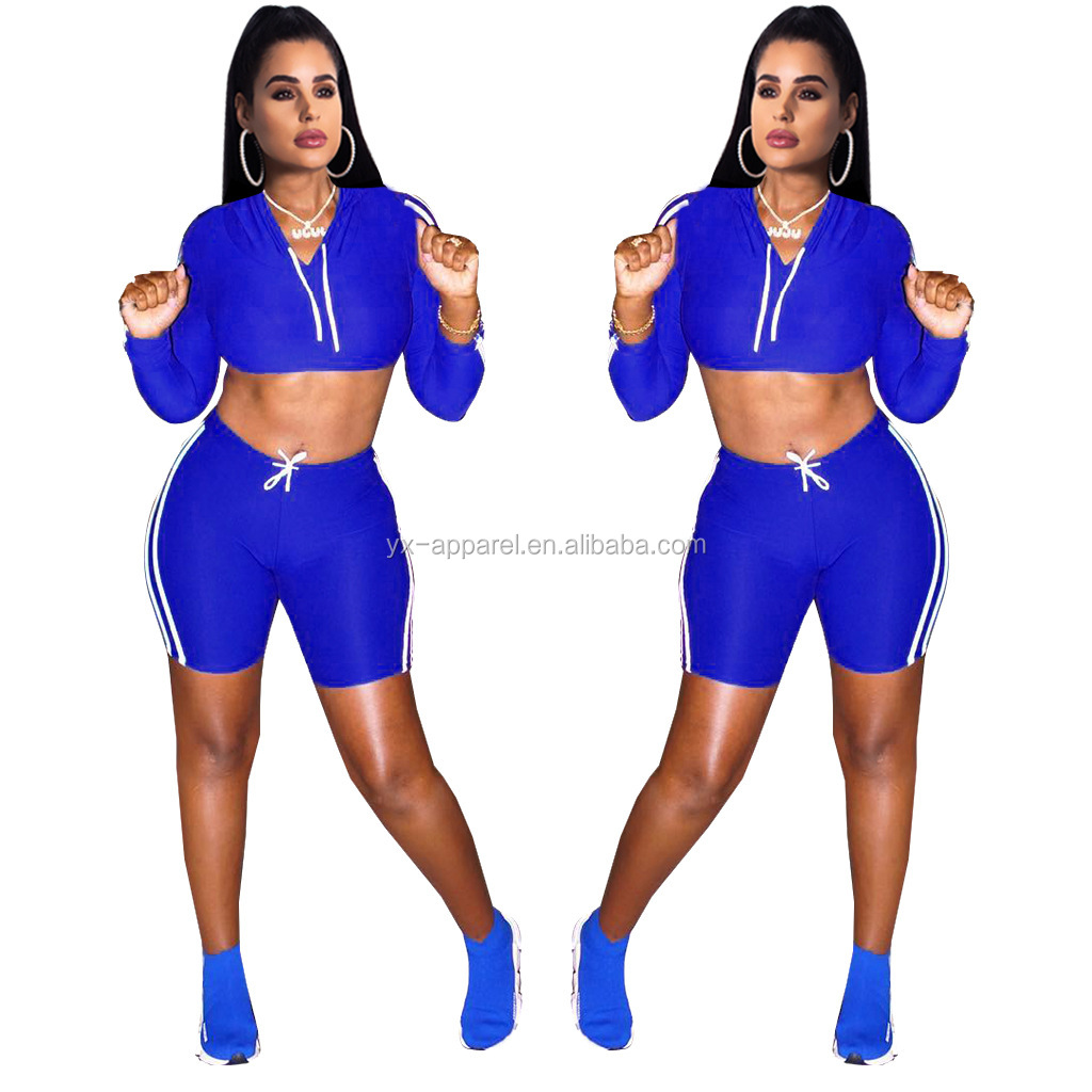 Sexy club fall boutique outfits 2 piece women pants set