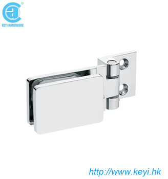factory price stainless steel wall mounted adjust glass clamp shower
