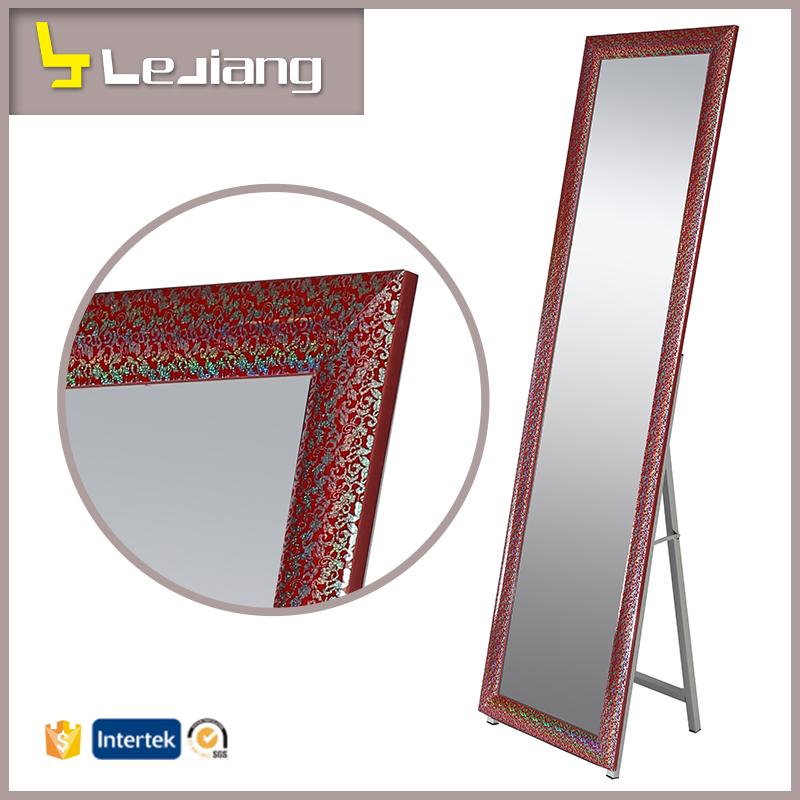 Gran colorido espejo de cuerpo entero espejos for Espejos de cuerpo completo precio