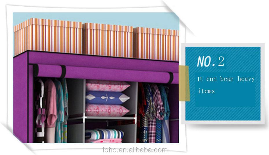Folding Wardrobe Closet Cabinet/ Cupboard/ Portable Fabric Wardrobe